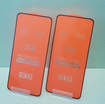Защитное стекло 5d для Xiaomi Redmi Note 9t, M2007J22G, черное