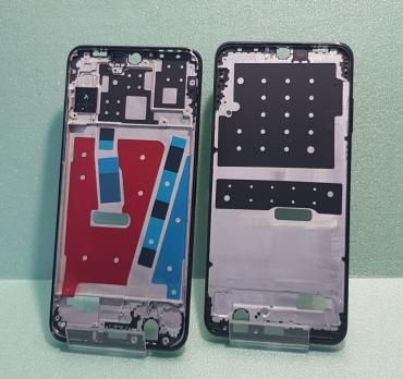 Рамка дисплея (средняя часть корпуса) Huawei P30 Lite, MAR-LX1M, черная