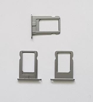 Сим держатель iPhone 5, iPhone 5S, iPhone SE, серый