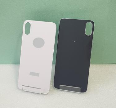 Задняя крышка iPhone X, белая, с большим отверстием под камеру