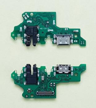 Нижняя плата с разъемом зарядки и микрофоном Huawei Honor 9X, STK-LX1