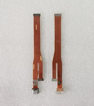 Нижняя плата с разъемом зарядки и микрофоном Oppo A5 (CPH-1809)