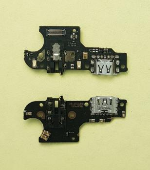 Нижняя плата с разъемом зарядки и микрофоном Oppo A5s (CPH-1909)