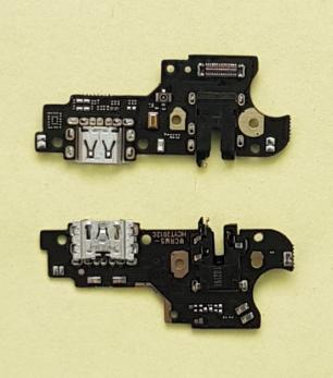 Нижняя плата с разъемом зарядки и микрофоном Realme C3 (RMX 2020), Realme 5 (RMX 1927)