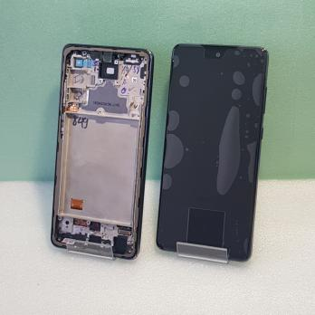 Дисплей с сенсором Samsung Galaxy A72, SM A725F, оригинал 100%, черный