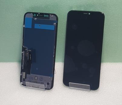 Дисплей с сенсором iPhone 11, AAA+ с металлической пластиной, черный