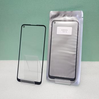 Стекло с OCA пленкой Huawei Honor 30s, CDY-NX9A, черное