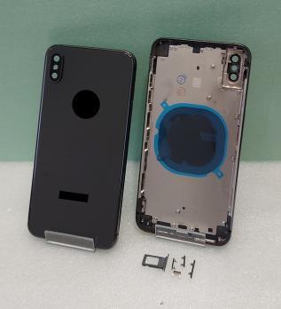 Корпус iPhone XS Max, темно серый