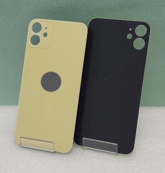 Задняя крышка iPhone 11, золотистая