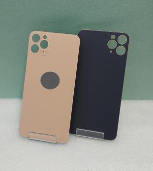 Задняя крышка iPhone 11 Pro Max, золотистая