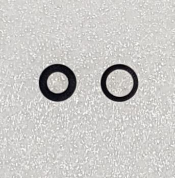 Стекло камеры iPhone 12 mini, черное (2 штуки в комплекте)