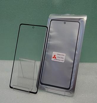 Стекло с OCA пленкой Samsung Galaxy A52, SM A525F, черное