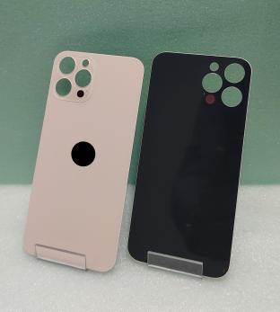 Задняя крышка iPhone 12 Pro Max, золотистая