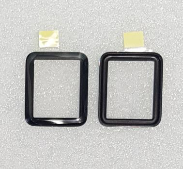 Стекло с OCA пленкой Apple Watch 2/3, 38 mm, черное
