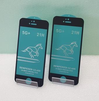 Защитное стекло 5d 9h, для Apple iphone 5, iphone 5C, iphone 5S, черное
