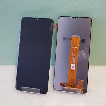 Дисплей с сенсором Samsung Galaxy A12, SM A125F, оригинал 100%, черный