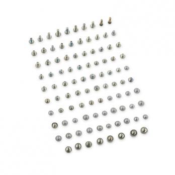 Набор винтов iphone 6S, черные, полный комплект