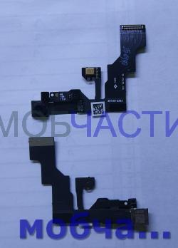 Шлейф на сенсор с фронтальной камерой iPhone 6S Plus.
