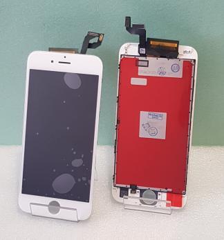 Дисплей с сенсором iPhone 6S, белый, переклеенная матрица