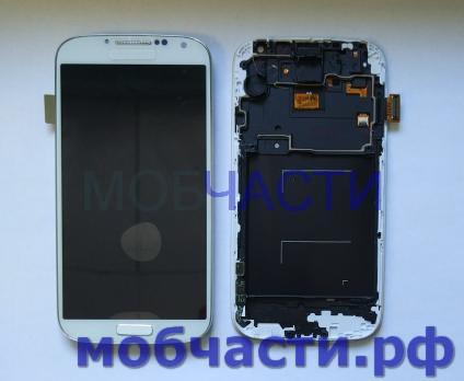 Дисплей с сенсором Samsung Galaxy S4, GT i9500, GT i9505, белый, TFT