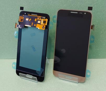 Дисплей с сенсором Samsung Galaxy J3, SM J320f, золото, Oled