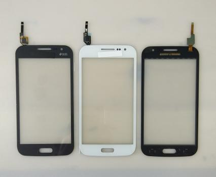 Сенсорное стекло (тачскрин) Samsung Galaxy Win Duos, GT i8552, серый