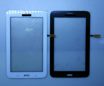 Сенсорное стекло (тачскрин) Samsung Galaxy Tab 3 Lite, SM T111, черный