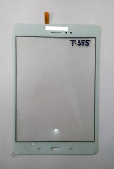 Сенсорное стекло (тачскрин) Samsung Galaxy Tab A, 8,0, Lte SM T355, белый