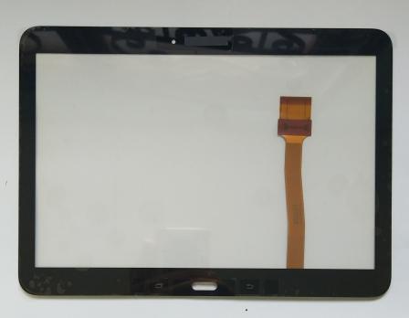 Сенсорное стекло (тачскрин) Samsung Galaxy Tab 4, 10,1, SM T530, T531, T535, черный