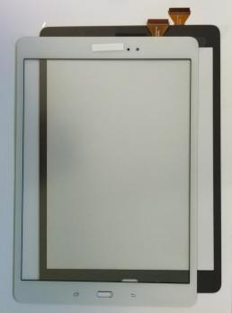 Сенсорное стекло (тачскрин) Samsung Galaxy Tab A, 9,7, SM T555, белый