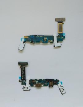 Шлейф Samsung Galaxy S6, SM G920F, с разъемом зарядки