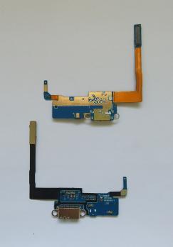 Шлейф Samsung Galaxy Note 3, N9005, с разъемом зарядки