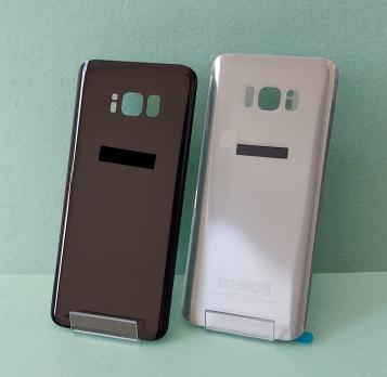 Задняя крышка Samsung Galaxy S8 Plus, SM G955f, серебро