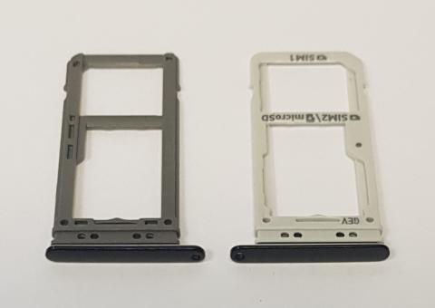 Сим держатель Samsung Galaxy S8 Plus, SM G955, черный